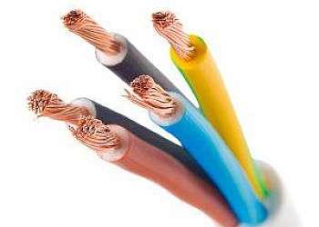 Locação de cabo elétrico