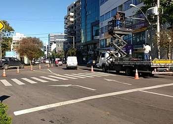 Manutenção de semáforos