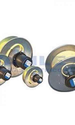 Enrolador para cabo eletrico mola